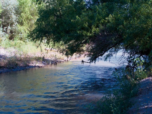 """The 11th annual Gila River Festival kicks off Thursday in Silver City. The theme of this year's festival is """"Finding Balance in a Changing World.""""  Mary Alice Murphy - Sun-News"""