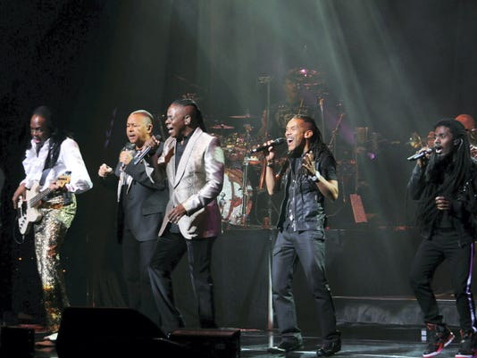 Famed rock band Earth, Wind and Fire are among the popular shows that have performed in the past nine years at H. Ric Luhrs Performing Arts Center, Shippensburg University.