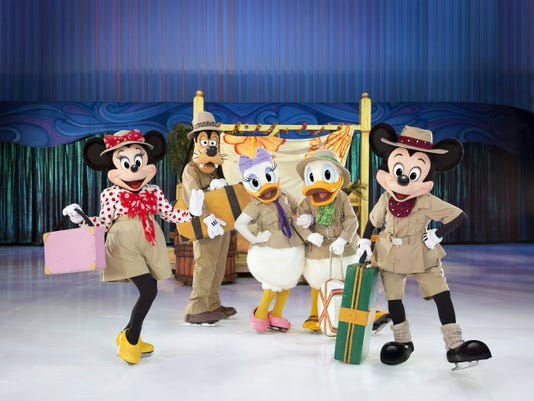 """Disney on Ice """"Passport to Adventure"""" will be hitting the Giant Center on April 8 through April 12. Submitted"""