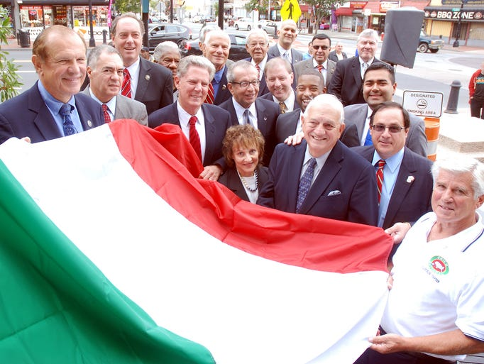 Members of UNICO District X, Congressman Frank Pallone,