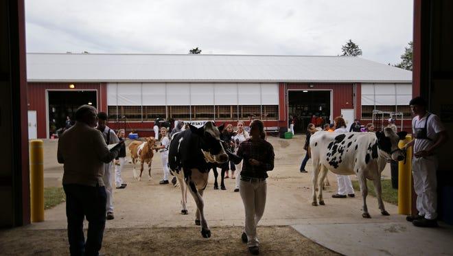 Waupaca County farmer David Heideman recently provided a $2,500 grant to help fund dairy and livestock facility upgrades at the Waupaca County Fairgrounds in Weyauwega.
