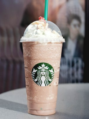 Starbucks' Christmas Frappuccino will be available for a limited time from December 7 through 11.