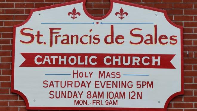 St. Francis de Sales Catholic Church on Granville Street in Newark.