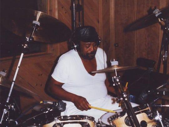 James Crudup during rehearsal at the Gidden's Do-Drop Inn in Weirwood, Va.