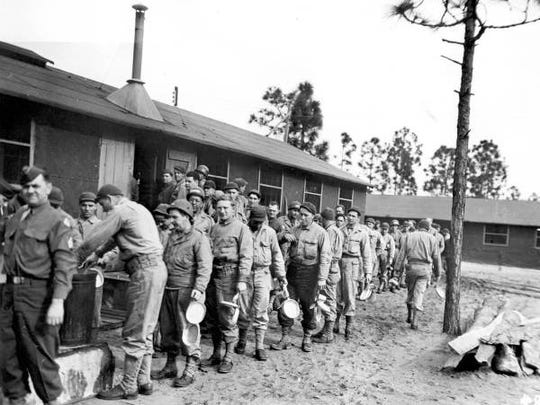 Camp Gordon Johnston in Carrabelle, Florida, provided amphibious training for troops in World War II.