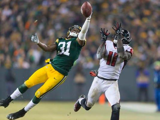 Atlanta Falcons at Green Bay Packers