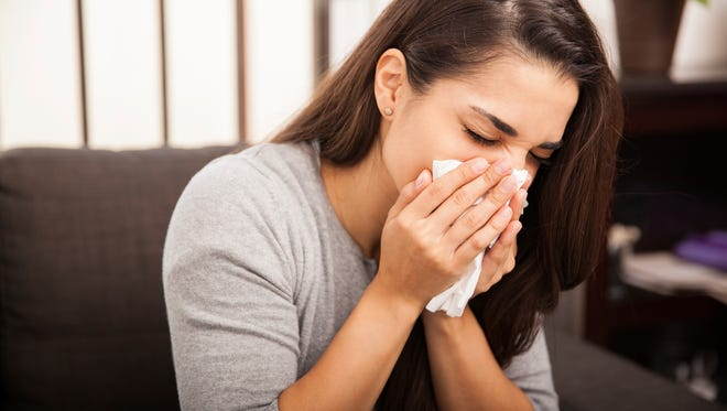 It's spring and you've been sniffling - a symptom that affects your respiratory system.