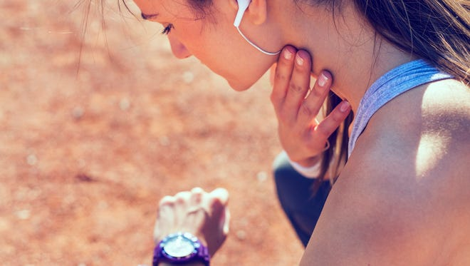 Shortness of breath can be the result of de-conditioning, which can happen when we stop getting regular exercise.