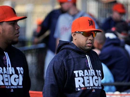 """Francisco Rodriguez on the Tigers: """"There's a lot of expectations, obviously, with all the moves we made."""""""