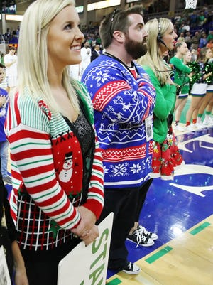 We missed wearing ugly Christmas sweaters.