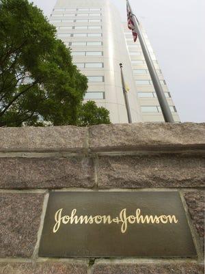 Johnson & Johnson corporate headquarters in New Brunswick.