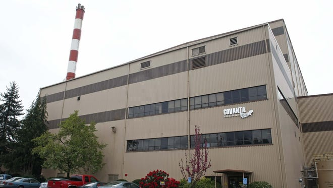 The Covanta Energy facility, in Brooks,  on Friday April 20, 2012. The facility is in the public comment period for the renewal of its DEQ discharge permit.