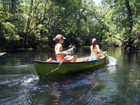 Wekiwa Springs State Park is a delightful respite with