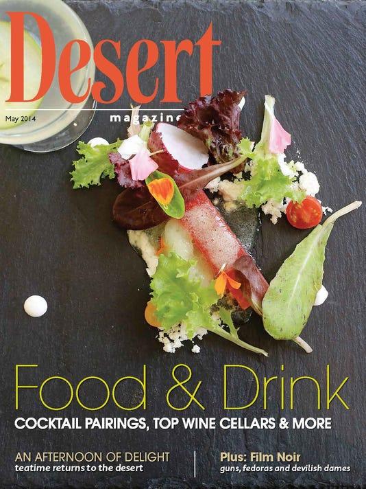 Desert Magazine Cover, May 2014