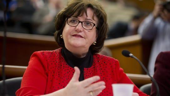 New York Education Commissioner MaryEllen Elia.