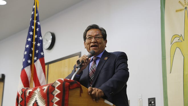 Navajo Nation President Russell Begaye has signed a measure authorizing the use of supplemental funding  for stipends and other expenses for members of district grazing committees, farm boards and the Eastern Navajo Land Board.