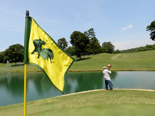 Greenville Country Club has hosted five Carolinas Amateurs since it was held at the Sans Souci Club in 1910. ?It?s in great condition, and the course will be challenging,? said Jackson Hughes Jr., president of the Carolinas Golf Association.  BART BOATWRIGHT/Staff Grounds crew prepare the Greenville Country Club's Chanticleer course Tuesday, July 8, 2014 in preparation of the Carolinas Amateur which begins Thursday