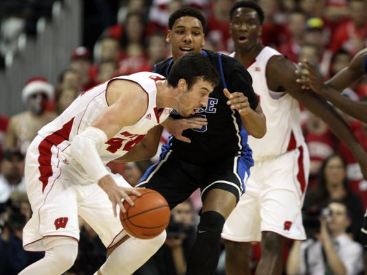 NCAA Basketball: Duke at Wisconsin