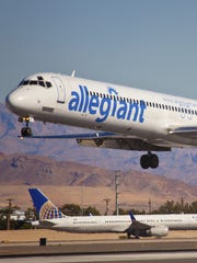 Low cost carrier Allegiant filed an application with the Department of Transportation to launch service to Mexico.