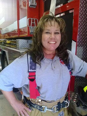 """Firefighter Monica Kelsey is an advocate for so-called """"baby box"""" legislation in Indiana."""