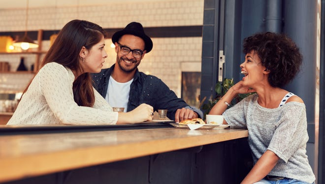 Going out to lunch can be a great way to break out of a monotonous routine.