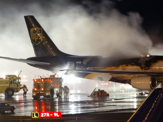 AP AIRLINES BATTERY FIRES A FILE USA PA
