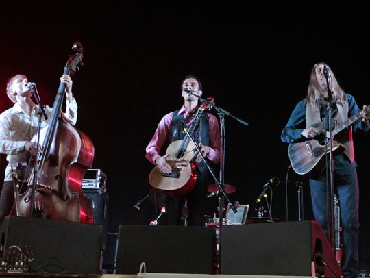 The Wood Brothers played to a packed house at the Harro