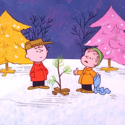 "- ""A Charlie Brown Christmas"" - When Charlie Brown"