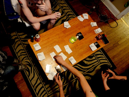 The Ark-La-Tex Naturism group plays Cards Against Humanity