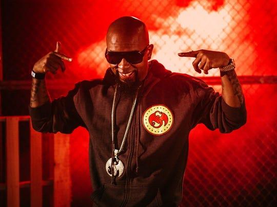Underground hip-hop veteran Tech N9ne performs tonight at the New Daisy Theatre.