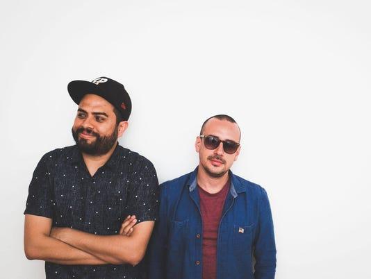 DJs Orlando Boom and Chris Terry
