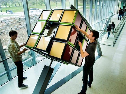 university of michigan rubik cube