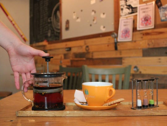 Infusion Coffee & Tea Crafters offers a variety of