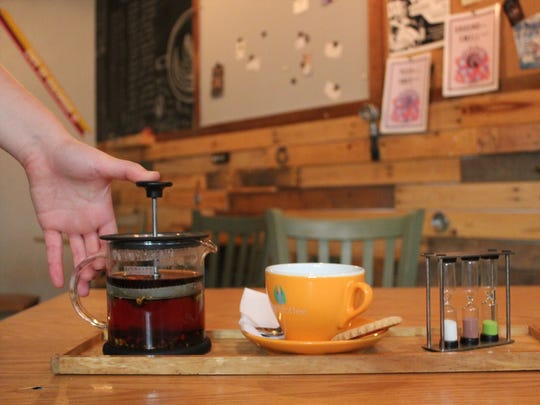 Infusion Coffee & Tea Crafters offers a variety of artisan teas.