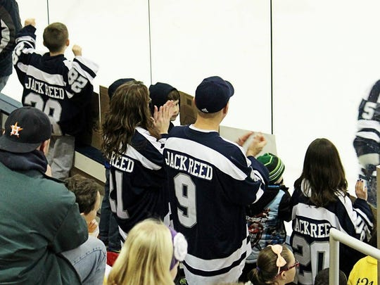 The Reed family of Mount Morris proudly wore jerseys