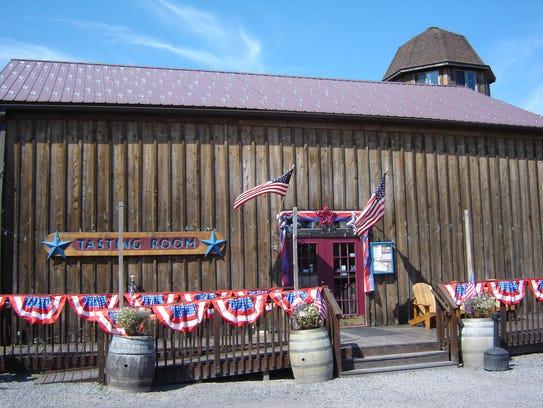 Americana Vineyards in Interlaken, Seneca County, in
