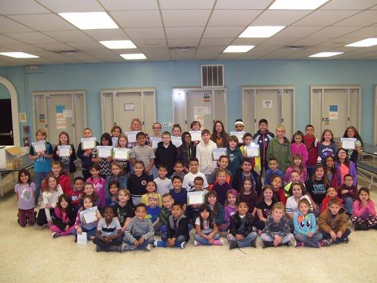 Seventy-nine North Elementary School students were