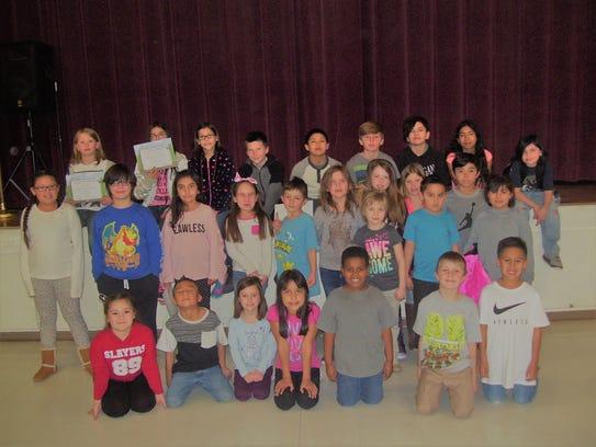 Thirty-eight Oregon Elementary School students were