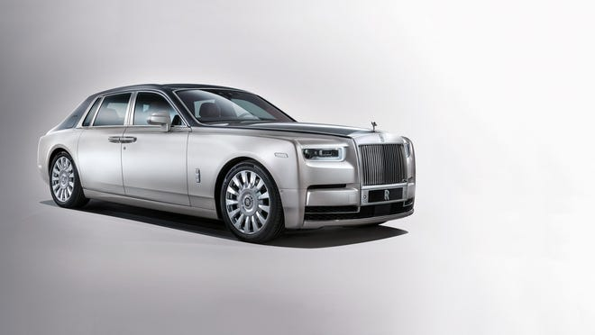 Rolls Royce Phantom makes debut at The Gallery