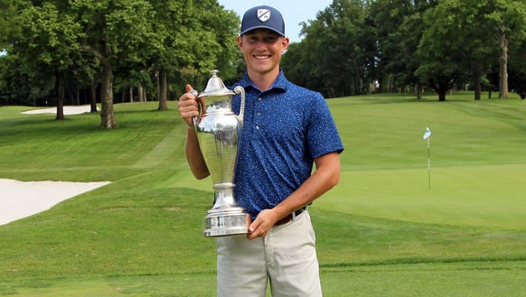 Christian Cavaliere won the Westchester Amateur Championship