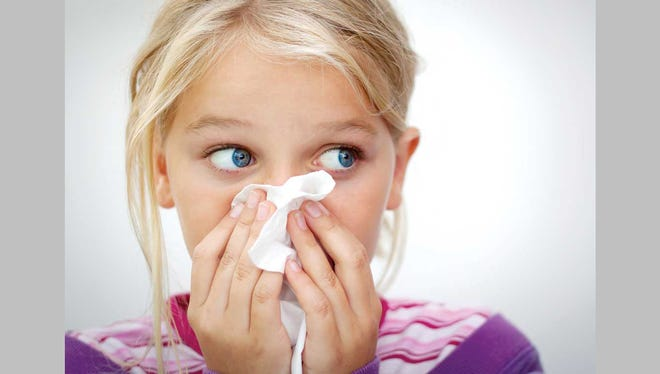 When an infected person coughs or sneezes, cold viruses are released into the air and can be inhaled by others.