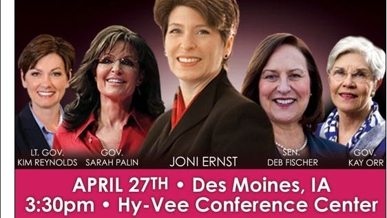 Image from the ShePAC invitation to the April 27 fundraiser in Des Moines.