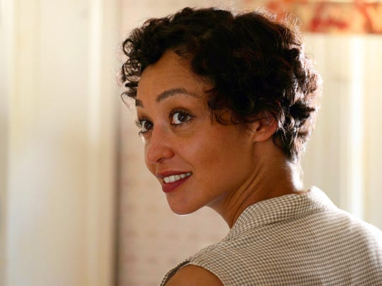 "Ruth Negga in a scene from ""Loving."" Negga was nominated for an Oscar for best actress."