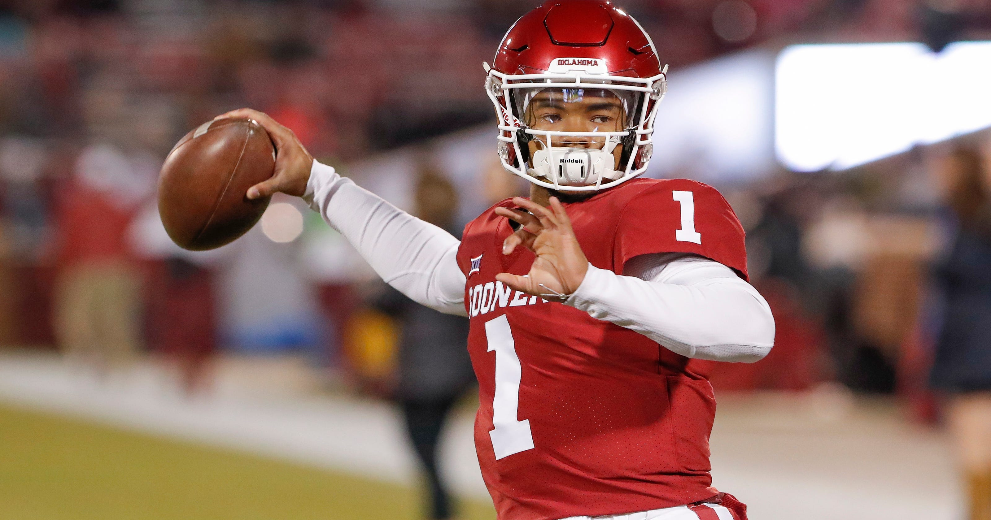 a629ba61f Will Kyler Murray pick NFL over MLB   Everybody knows he s got a big  decision to make