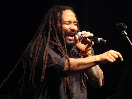 Ky-Mani Marley, son of legendary reggae artist Bob
