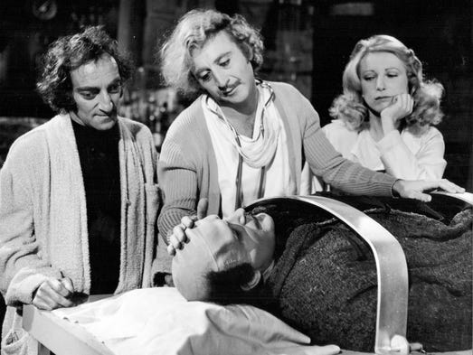 satire of young frankenstein Shop ebay for great deals on vhs tapes young frankenstein you'll find new or used products in vhs tapes young frankenstein on ebay free shipping on selected items.