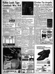 Battle Creek Sports History: Week of June 2, 1966