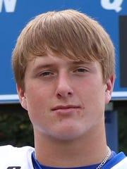Riverside quarterback Stone Frost