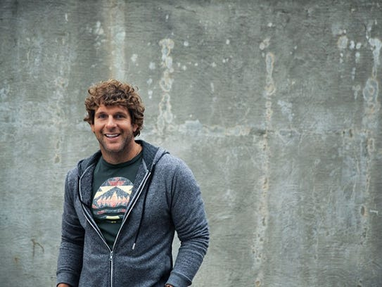 Country musician Billy Currington performs Sept. 2