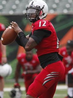 Jarred Evans might play some positions other than quarterback this season, UC coach Tommy Tuberville said.